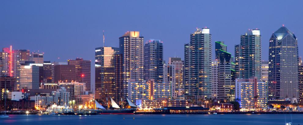 New York, San Diego, Europe, Globe