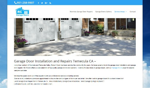 Garage Door Repair Temecula CA